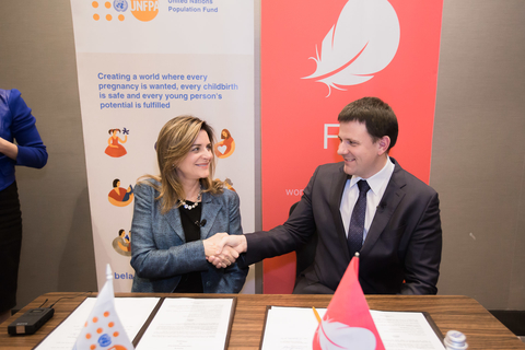 Unfpa Belarus Cooperation Agreement Between Unfpa And Owhealth