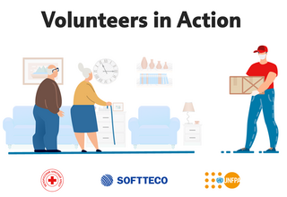 UNFPA and SoftTeco: Volunteers-in-Action for Red Cross